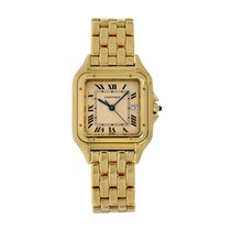 Cartier Panthère Yellow gold 28mm White Roman numerals
