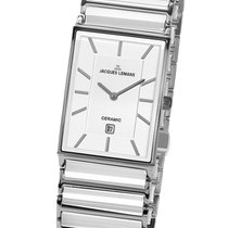 Jacques Lemans High Tech Ceramic York Steel 28mm White