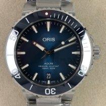 Oris Aquis Date Steel 39.50mm Blue No numerals