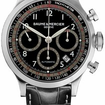 Baume & Mercier Capeland Steel 42mm Black Arabic numerals United States of America, New York, New York
