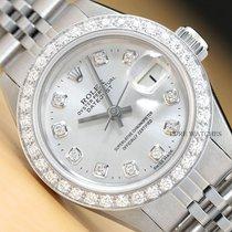 Rolex Lady-Datejust Stahl 26mm Silber
