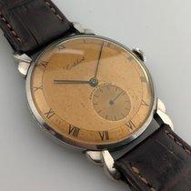 Cortébert Ocel 36mm Ruční natahování Cortébert oversized wristwatch použité