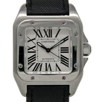 Cartier W20106X8 Steel 2010 Santos 100 35mm pre-owned United States of America, Florida, Miami