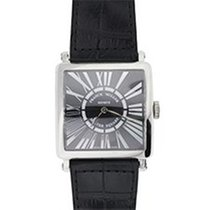 Franck Muller Master Square Steel 32mm Black Roman numerals United States of America, New York, Greenvale