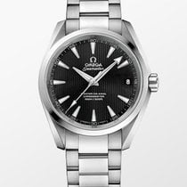 Omega Seamaster Aqua Terra Steel 41,5mm Black Arabic numerals