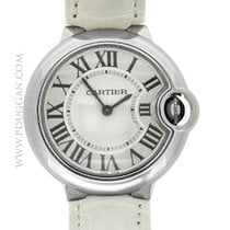 Cartier stainless steel ladies Ballon Bleu