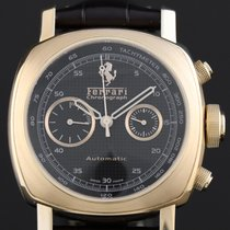 Panerai Ferrari Rose gold 45mm Black Arabic numerals
