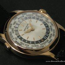 """Patek Philippe : Discontinued Pink Gold Worldtimer """"Ref.5110..."""