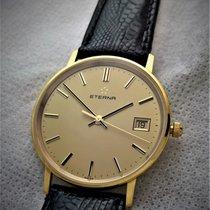 Eterna 14ct golden thin model,  in very good condition
