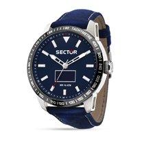 Sector R3251575011 - 850 SMART 45mm 3H - BLUE DIAL BLUE STRAP