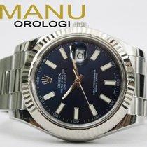 Rolex Datejust II Blue Ref.116334
