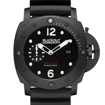 Black-Out Concept Steel 47mm Automatic new