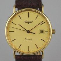 Longines Gult guld 32mm Kvarts 29840943 brugt Danmark, Horsens