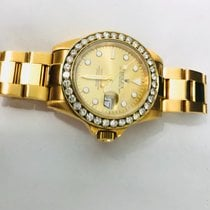 Rolex Yacht-Master Yellow gold 40mm White No numerals Canada, Delta