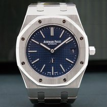 Audemars Piguet 15202ST.OO.1240ST.01 Royal Oak Extra Thin Blue...