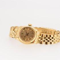 Rolex 67198 Gelbgold 1970 Oyster Perpetual 24mm gebraucht Schweiz, Crans-Montana