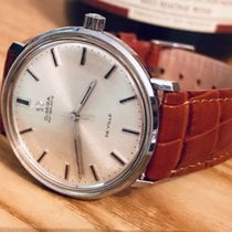 Omega Mens Vintage watch 1969 De Ville Automatic Bordeaux Red...