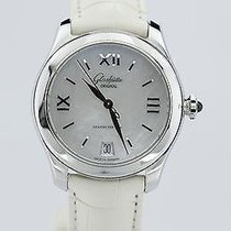 Glashütte Original Steel Automatic Mother of pearl 39mm new Lady Serenade