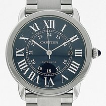 Cartier Ronde Croisière de Cartier neu Automatik Uhr mit Original-Box und Original-Papieren WSRN0023