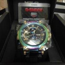 Casio G-Shock Zeljezo 55.8mm Boja šampanjca Bez brojeva