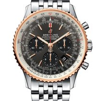 Breitling Navitimer 1 B01 Chronograph 43 Gold/Steel 43mm Grey No numerals United States of America, New York, New York