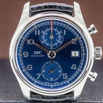 IWC Portuguese Chronograph Stål 42mm Grå Arabiska