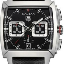 TAG Heuer Monaco Calibre 12 new 2010 Automatic Chronograph Watch with original box