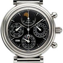 IWC Da Vinci Perpetual Calendar Steel 39mm Black No numerals United States of America, California, Los Angeles