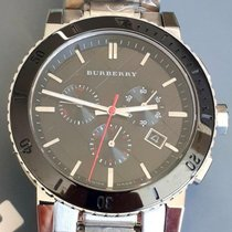 Burberry Staal 41mm Quartz BU9380 tweedehands