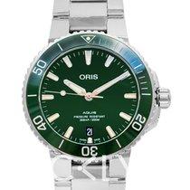 Oris Aquis Date 39.50mm Green