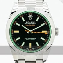 Rolex Milgauss Acél 40mm Fekete