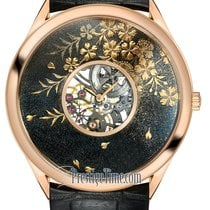 Vacheron Constantin Métiers d'Art Rose gold 40mm Black United States of America, New York, Airmont