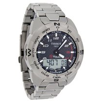 Tissot T-Touch Expert Mens Titanium Swiss Watch T013.420.44.20...