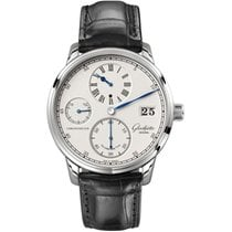 Glashütte Original Senator Chronometer Regulator White gold 42mm Silver United States of America, Pennsylvania, Holland