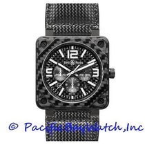 Bell & Ross Carbon Automatic Black 46mm new BR 01-94 Chronographe