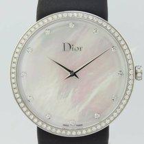 Dior La D De Dior Steel 37mm Mother of pearl No numerals