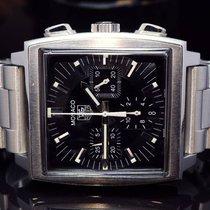 TAG Heuer 2008 Monaco Chrono, S/Steel Bracelet + Strap, Box...