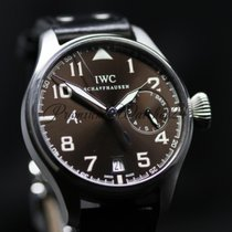 IWC 46mm Automatic 2011 pre-owned Big Pilot Brown
