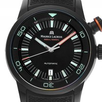 Maurice Lacroix Pontos S Diver PVD Black Automatik Armband...