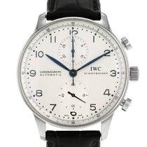 IWC Portuguese-Chronograph en acier Ref : 3714 Ref : 2000