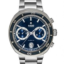 Rado D Star Stainless Steel Chronograph Men's Watch – R15966203