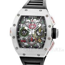 リシャール ミル RM 011-02 Flyback Chronograph Dual Timezone Titanium...