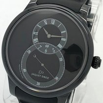 Jaquet-Droz 44mm Automatic 2010 pre-owned Grande Seconde Black