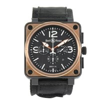 Bell & Ross BR 01-94 Chronographe Steel 46mm Black