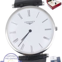浪琴 Mint Longines La Grande Classique Calibre L420 White Steel...