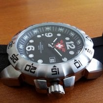 N.O.A Steel 52mm Quartz 128597 new