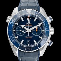 Omega Seamaster Planet Ocean Chronograph Steel 45.5mm Blue United States of America, California, San Mateo