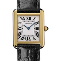 Cartier Tank Solo Yellow gold White Roman numerals United States of America, New York, New York