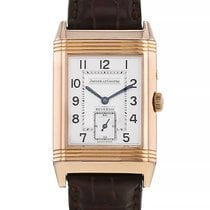 Jaeger-LeCoultre Reverso Duoface Rose gold 26mm Silver Arabic numerals