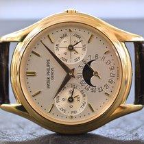 Patek Philippe Perpetual Calendar Gelbgold 36mm Silber